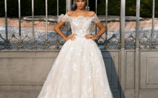 Свадебные платья из шифона, фото шифоновых платьев невесты