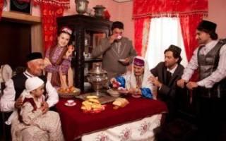 «Национальная свадьба в татарском стиле: обычаи и традиции[
