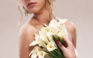 «Как правильно выбрать букет невесты из калл[