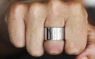 «Широкое обручальное кольцо, его особенности + фото[