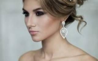 «Свадебные прически на длинные и средние волосы с челкой[