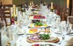 Меню для банкета на свадьбу, как рассчитать количество продуктов на свадьбу