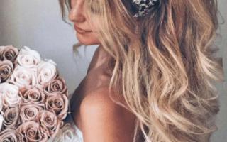 Свадебные прически на длинные волосы (фото)