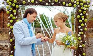 Яблочная свадьба: идеи оформления