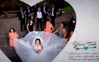 «Футажи для свадьбы – все, что вы хотели узнать[