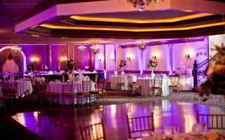 Освещение на свадьбе — свечи, гирлянды, светильники