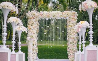 Оформление свадьбы цветами, свадебная флористика