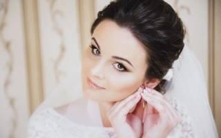 Свадебный макияж для брюнеток (фото)