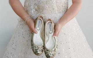 Удобная свадебная обувь