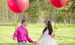 Свадьба в цвете фуксия, оформление свадьбы в оттенке фуксии
