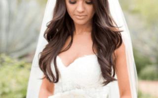 «Подборка свадебных причесок: распущенные волосы[