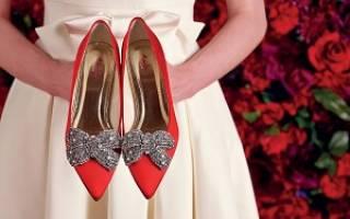 Желтые свадебные туфли для невесты