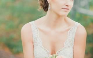 «Образы лучших свадебных причесок на каре с удлинением[