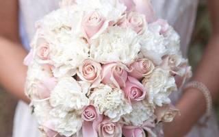 «Как правильно оформить букет невесты из гвоздик[