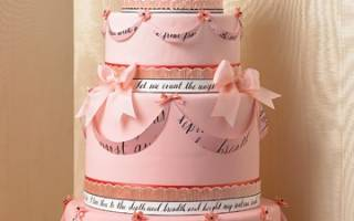 Верхушки для свадебных тортов