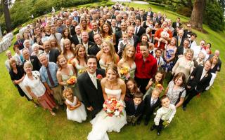 Свадебные цветы в июле
