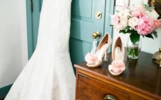 6 правил выбора свадебной обуви