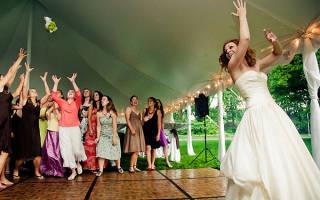 «Поймать букет невесты на свадьбе – доброе ли ознаменование?[