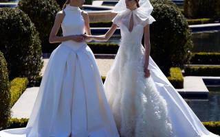 «Модные тенденции – свадебные платья 2017 года[