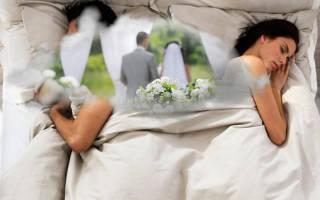 «К чему снится свадьба с бывшим мужем или женой – толкование[