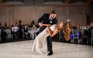 Свадебный танец жениха и невесты (видео)