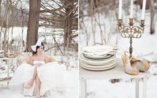 14 необычных идей для зимней свадьбы