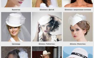 Фото свадебных шляпок вуалеток для невест