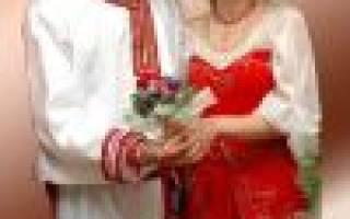 «Как составить сценарий свадьбы в русском стиле?[