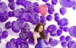 Фото свадебных пригласительных в виде воздушных шаров