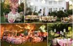 Организация свадьбы дома, как устроить свадьбу дома