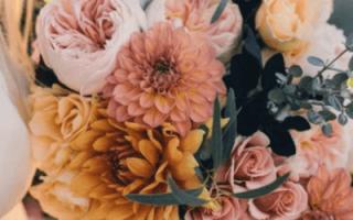 «Букет невесты из хризантем – красиво и со вкусом[