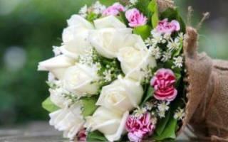 «Букет на свадьбу дочери – правила по составлению[