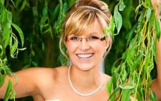 Свадьба в очках, невеста в очках на свадьбу