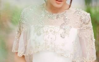 Осеннее свадебное платье