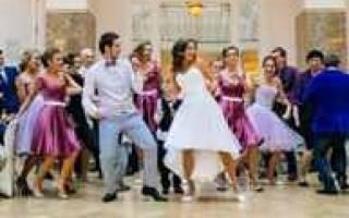 «Как лучше подобрать танец на свадьбу сестры?[