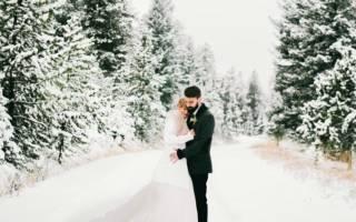 Свадьба в декабре: идеи, приметы, традиции, наряды жениха и невесты