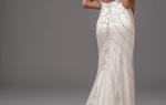 Блестящие свадебные платья фото