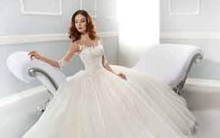 «Тонкости выбора пышного свадебного платья[