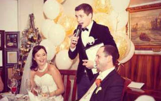 «Выбираем тосты за молодых на свадьбе от ведущего[