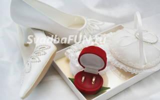 Фото белых свадебных туфель