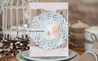 «Как самостоятельно сделать приглашения на свадьбу в стиле рустик?[