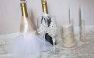 «Как красиво и креативно оформить шампанское на свадьбу?[