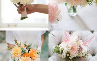 Свадебный букет из хризантем своими руками (фото)