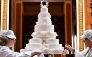 Фото больших свадебных тортов