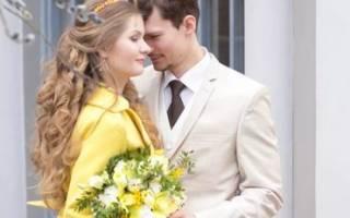 Весенняя свадьба с нарциссами