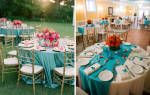 Бирюзовые свадебные букеты, фото букетов на свадьбу бирюзового цвета