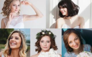 «Самостоятельно делаем свадебную прическу на волосы по плечи[