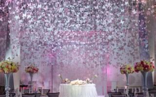 «Свадьба в стиле бабочек: особенности проведения мероприятия[