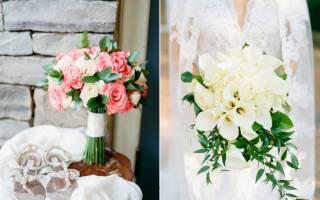 «Бело-красный букет невесты – утонченность в каждом цветке[