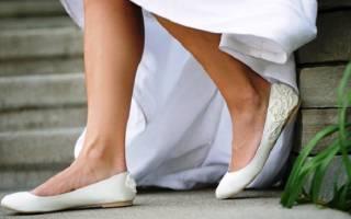 Свадебные балетки, фото балеток под свадебное платье для невесты